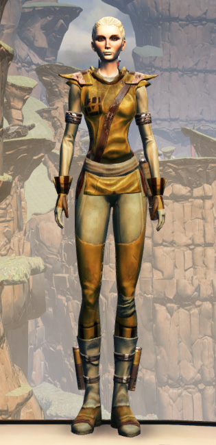 Prisoner Armor Set Outfit from Star Wars: The Old Republic.