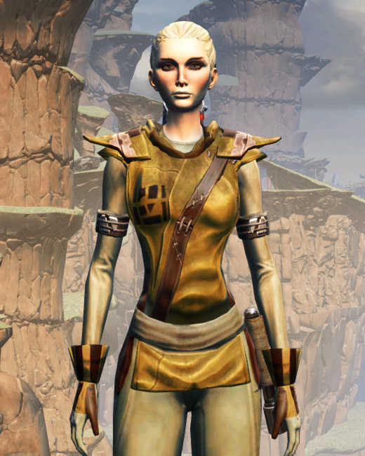 Prisoner Armor Set Preview from Star Wars: The Old Republic.