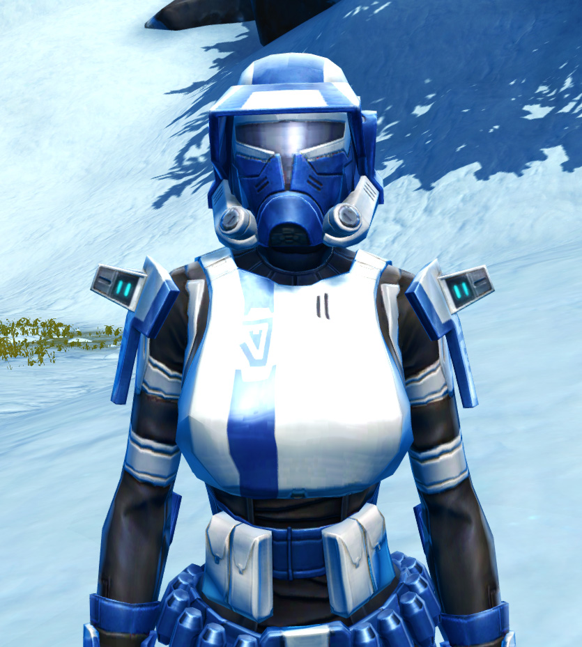Quadranium Asylum Armor Set from Star Wars: The Old Republic.