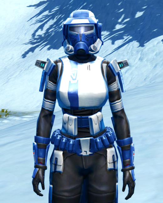 Quadranium Asylum Armor Set Preview from Star Wars: The Old Republic.