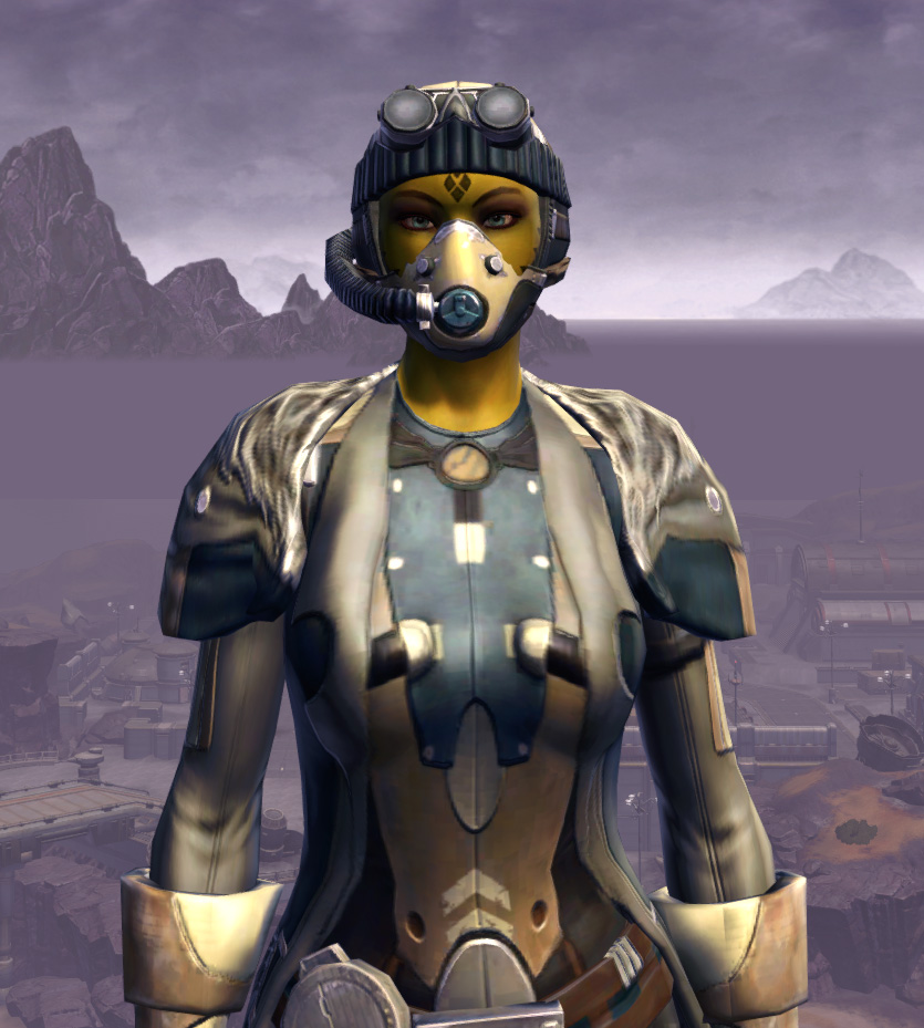 Quadranium Onslaught Armor Set from Star Wars: The Old Republic.