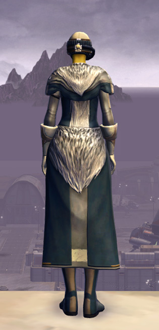Quadranium Onslaught Armor Set player-view from Star Wars: The Old Republic.