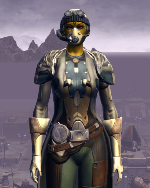 Quadranium Onslaught Armor Set Preview from Star Wars: The Old Republic.