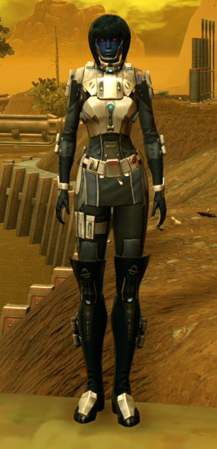 RD-07A Vendetta Armor Set Outfit from Star Wars: The Old Republic.