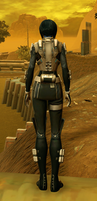 RD-07A Vendetta Armor Set player-view from Star Wars: The Old Republic.