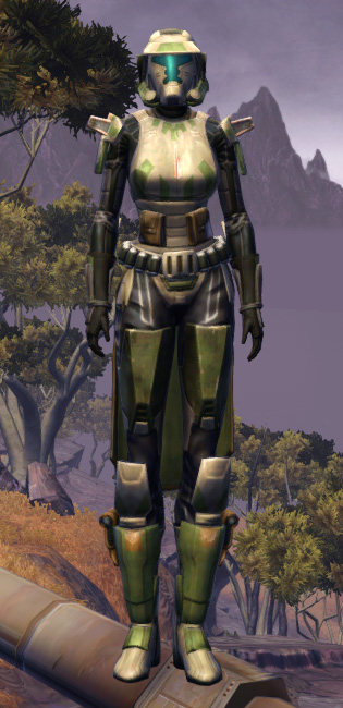 RD-17A Phalanx Armor Set Outfit from Star Wars: The Old Republic.