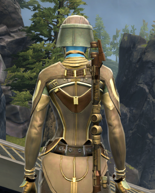 Rebuking Assault Armor Set Back from Star Wars: The Old Republic.