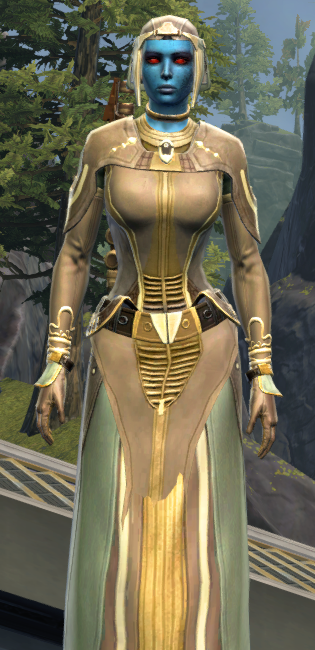 Rebuking Assault Armor Set Outfit from Star Wars: The Old Republic.