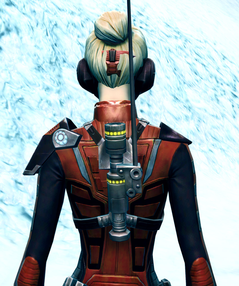 Recon Spotter Armor Set detailed back view from Star Wars: The Old Republic.
