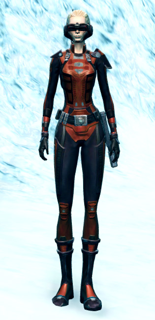 Recon Spotter Armor Set Outfit from Star Wars: The Old Republic.