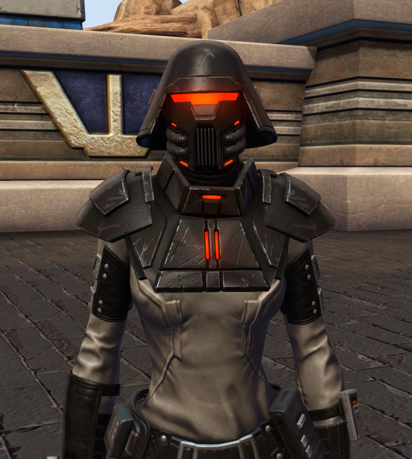 Reconstructed Apprentice Armor Set from Star Wars: The Old Republic.