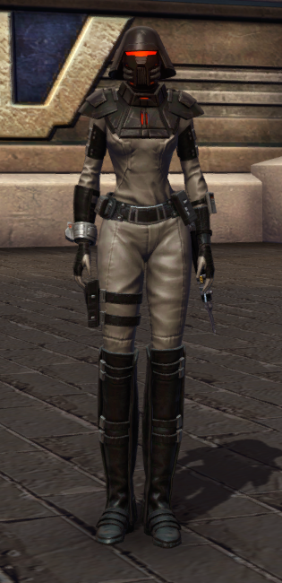 Reconstructed Apprentice Armor Set Outfit from Star Wars: The Old Republic.