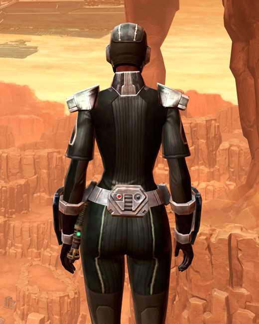 Reinforced Battle Armor Set Back from Star Wars: The Old Republic.
