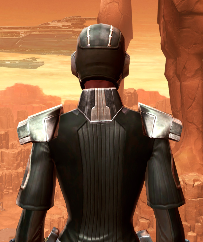 Reinforced Battle Armor Set detailed back view from Star Wars: The Old Republic.