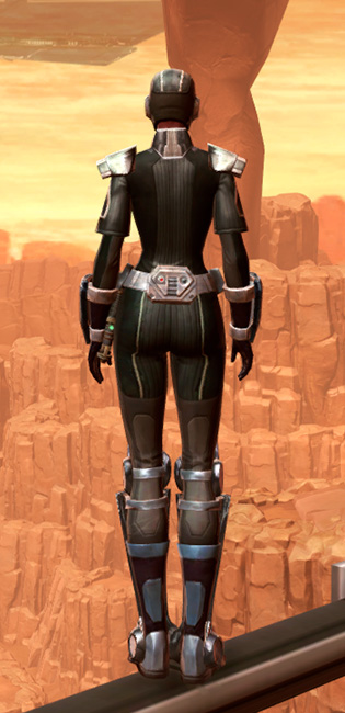 Reinforced Battle Armor Set player-view from Star Wars: The Old Republic.