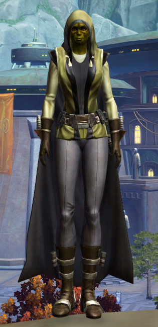 Reinforced Battle Armor Set Outfit from Star Wars: The Old Republic.
