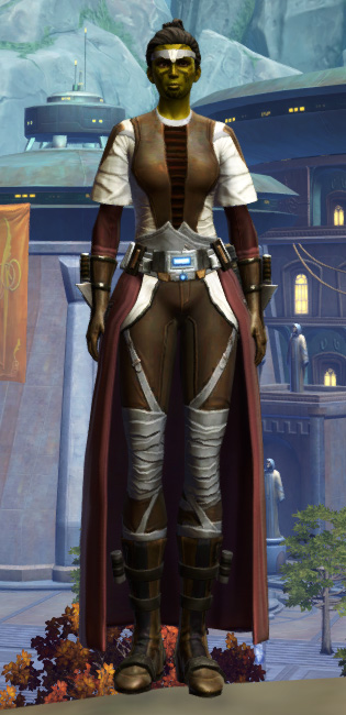 Reinforced Chanlon Armor Set Outfit from Star Wars: The Old Republic.