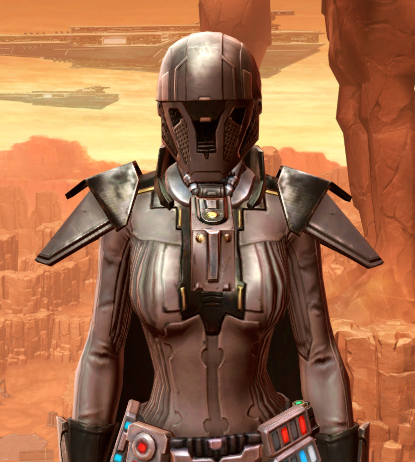 Reinforced Diatium Armor Set from Star Wars: The Old Republic.