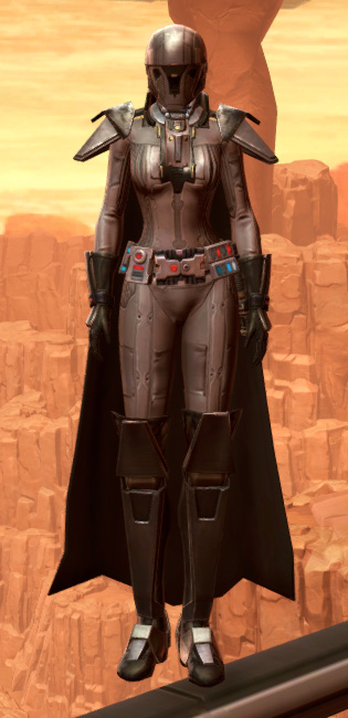 Reinforced Diatium Armor Set Outfit from Star Wars: The Old Republic.