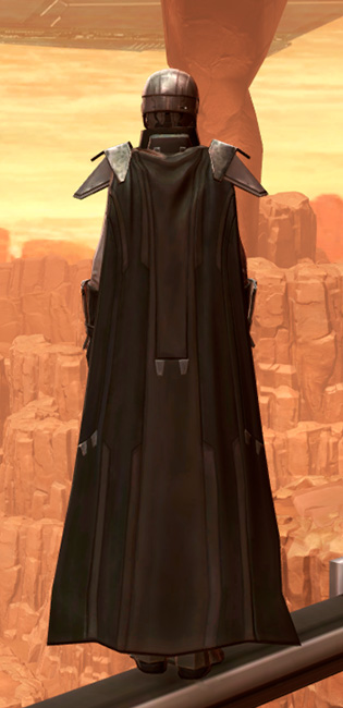 Reinforced Diatium Armor Set player-view from Star Wars: The Old Republic.
