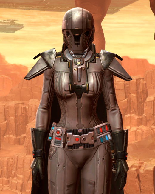 Reinforced Diatium Armor Set Preview from Star Wars: The Old Republic.