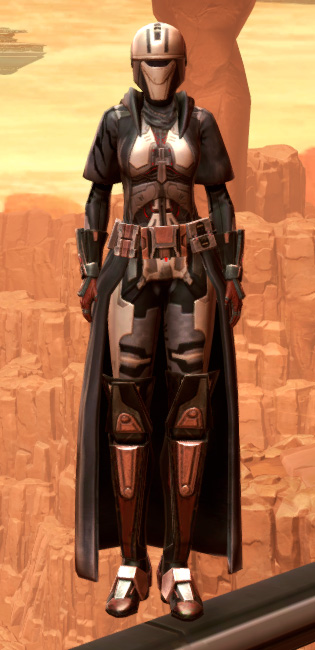 Reinforced Phobium Armor Set Outfit from Star Wars: The Old Republic.