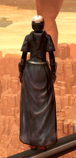 Reinforced Phobium Armor Set player-view from Star Wars: The Old Republic.