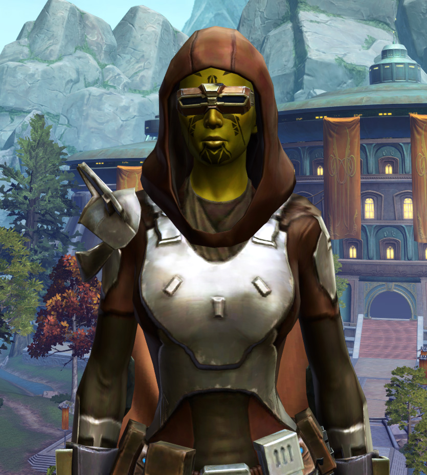 Reinforced Phobium Armor Set from Star Wars: The Old Republic.
