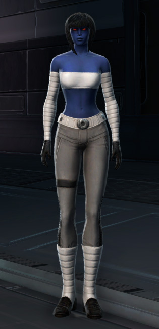 Relaxed Uniform Armor Set Outfit from Star Wars: The Old Republic.