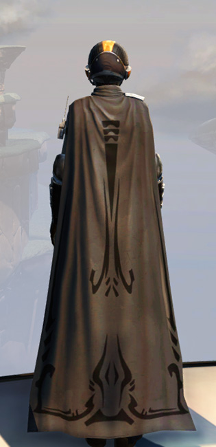 Remnant Arkanian Smuggler Armor Set player-view from Star Wars: The Old Republic.