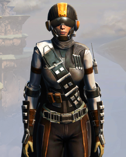 Remnant Arkanian Smuggler Armor Set Preview from Star Wars: The Old Republic.