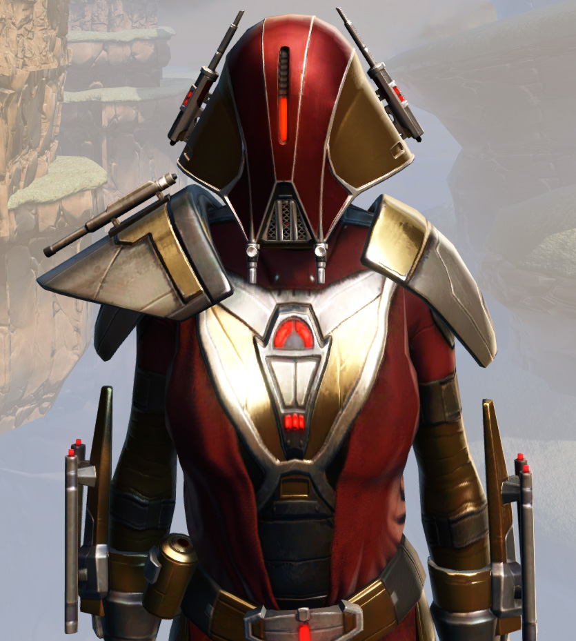Remnant Arkanian Warrior Armor Set from Star Wars: The Old Republic.