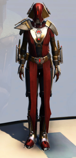 Remnant Arkanian Warrior Armor Set Outfit from Star Wars: The Old Republic.