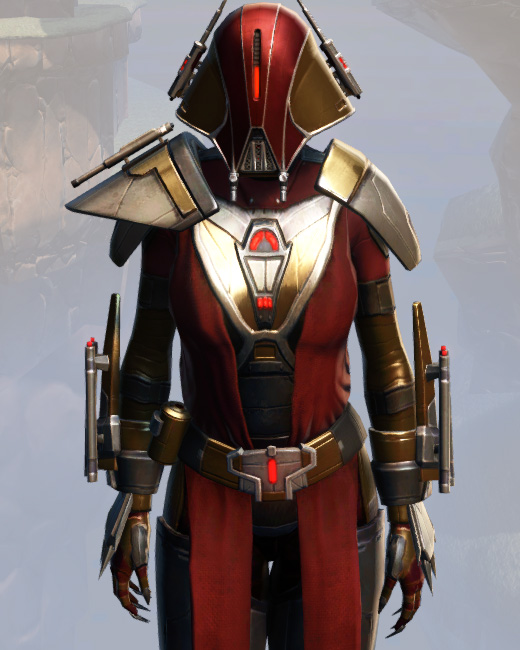 Remnant Arkanian Warrior Armor Set Preview from Star Wars: The Old Republic.