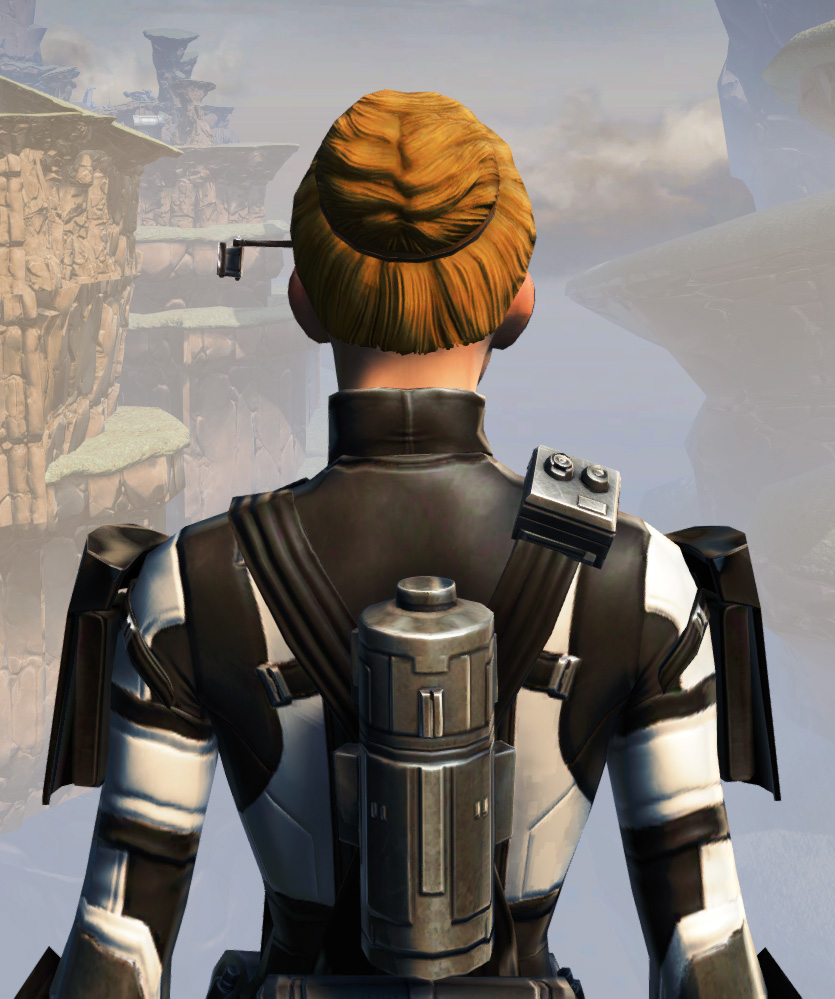Remnant Dreadguard Agent Armor Set detailed back view from Star Wars: The Old Republic.