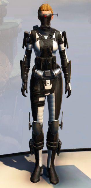 Remnant Dreadguard Agent Armor Set Outfit from Star Wars: The Old Republic.