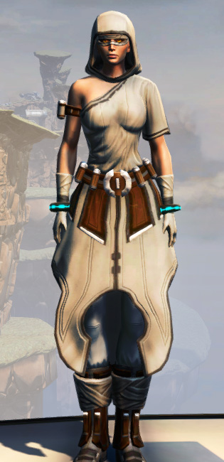 Remnant Dreadguard Consular Armor Set Outfit from Star Wars: The Old Republic.