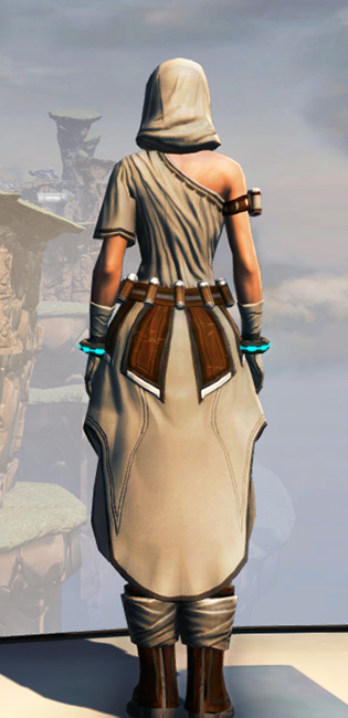 Remnant Dreadguard Consular Armor Set player-view from Star Wars: The Old Republic.