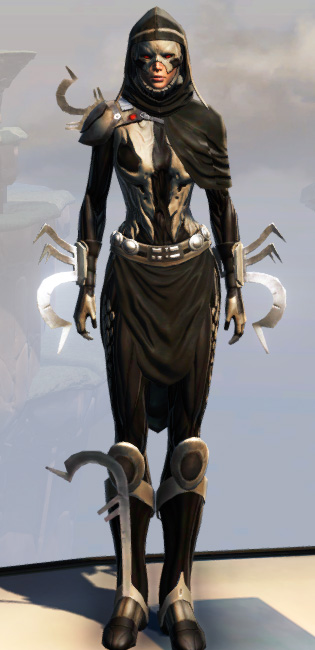 Remnant Dreadguard Inquisitor Armor Set Outfit from Star Wars: The Old Republic.