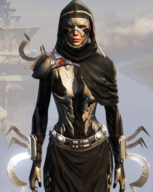 Remnant Dreadguard Inquisitor Armor Set Preview from Star Wars: The Old Republic.