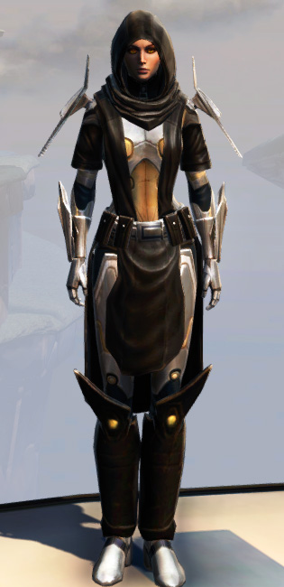 Remnant Dreadguard Knight Armor Set Outfit from Star Wars: The Old Republic.