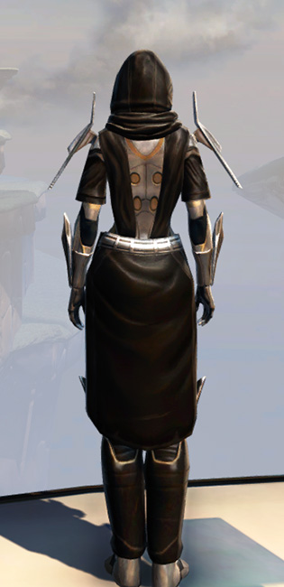 Remnant Dreadguard Knight Armor Set player-view from Star Wars: The Old Republic.
