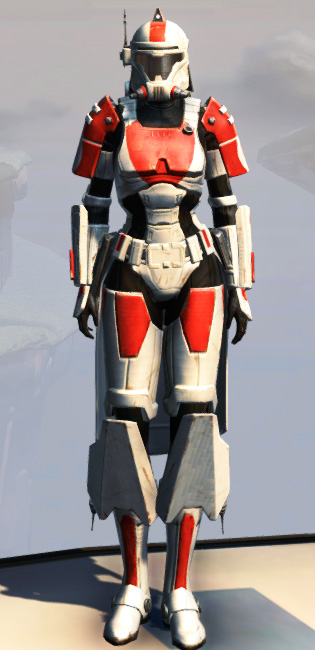 Remnant Resurrected Trooper Armor Set Outfit from Star Wars: The Old Republic.