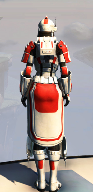 Remnant Resurrected Trooper Armor Set player-view from Star Wars: The Old Republic.