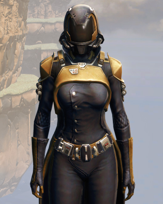 Remnant Underworld Agent Armor Set Preview from Star Wars: The Old Republic.