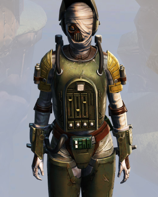 Remnant Underworld Bounty Hunter Armor Set Preview from Star Wars: The Old Republic.