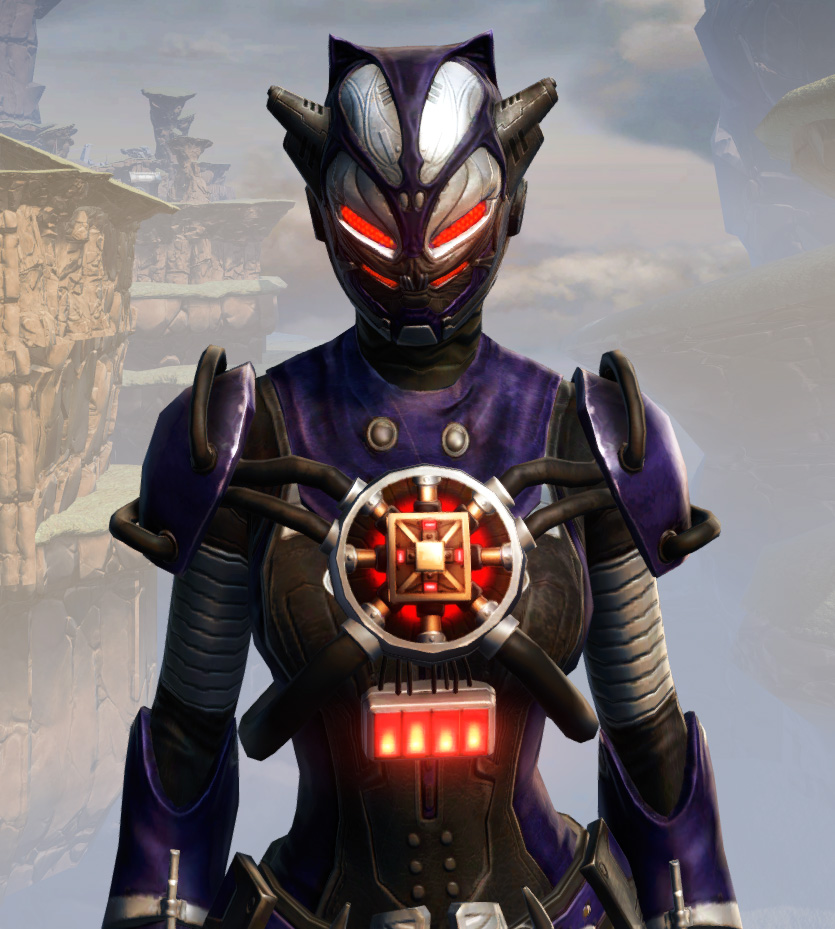 Remnant Underworld Inquisitor Armor Set from Star Wars: The Old Republic.