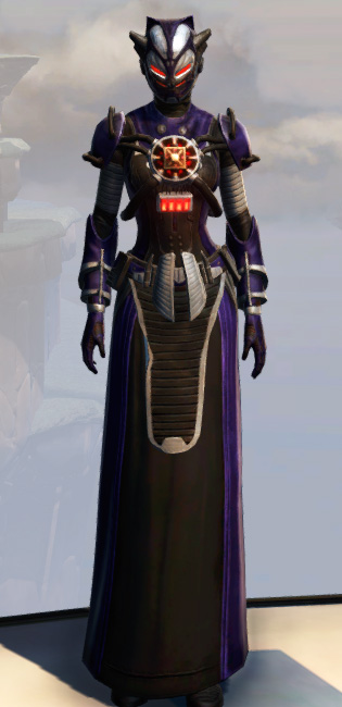 Remnant Underworld Inquisitor Armor Set Outfit from Star Wars: The Old Republic.