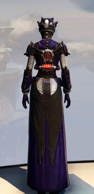 Remnant Underworld Inquisitor Armor Set player-view from Star Wars: The Old Republic.
