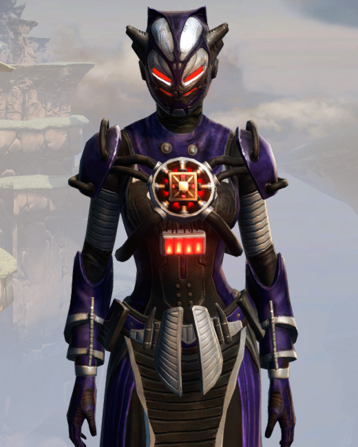 Remnant Underworld Inquisitor Armor Set Preview from Star Wars: The Old Republic.
